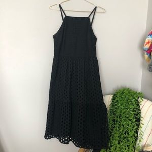 Eyelet Lace LOFT Dress Sz 6